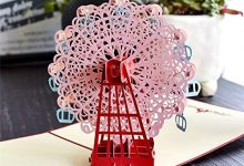 Photo of PLDMZHK Greeting card 3D Pop UP Cards Birthday Graduations Card Card Souvenirs lifelike Model Gifts for Boy Dad Kids Father Ferris Wheel