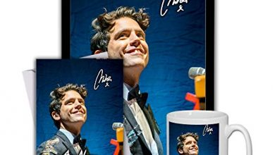 Photo of Star Prints UK MIKA (V1) Gift Set Bundle 2020 – Large 11cm Mug, A4 Framed Poster and Matching Personalised Birthday or Fathers Day Card (Personalised Card)