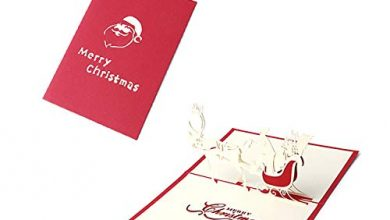 Photo of AEM Christmas Car 3D Pop Up Greeting Cards Anniversary Wedding Birthday Holiday Postcard Invitations With Envelope,37