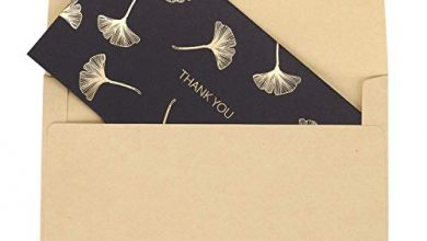 Photo of 10 Pcs Thank You Cards with Envelopes Classic Greeting Card All Occasion Blank Note Cards Best Wish Greeting Gift for Christmas Anniversary Wedding Birthday Party Business Christmas