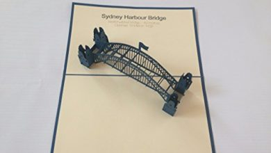 Photo of Sydney Harbour Bridge Most 3D Pop Up Greeting Cards Anniversary Baby Birthday Easter Halloween Mother's Father's Day New Home New Year Thanksgiving Valentine Wedding Christmas