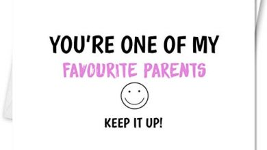 Photo of Funny sarcastic mother's day card- you're one of my favourite parents