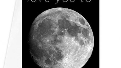 Photo of I love you to the moon and back mother's day card – beautiful