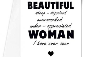 Photo of Humorous mother's day card – You are the most beautiful woman – funny – sarcastic