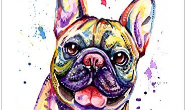 Photo of French Bulldog Fathers Day Card Gifts – Custom Text