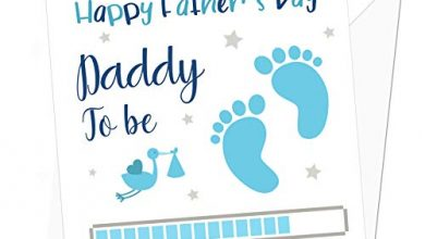Photo of Daddy to Be Personalised Father's Day Card from Baby Boy – Special Card for Dad to Be – Card from The Bump