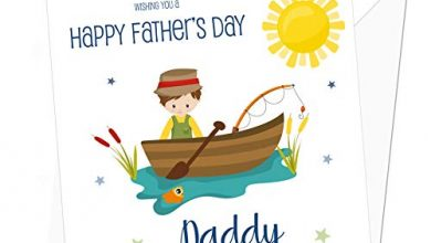Photo of Fishing Personalised Father's Day Card – Special Card for Dad – Card for Fisherman, Daddy, Grandad, Grandpa
