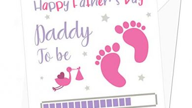 Photo of Daddy to Be Personalised Father's Day Card from Baby Girl – Special Card for Dad to Be – Card from The Bump