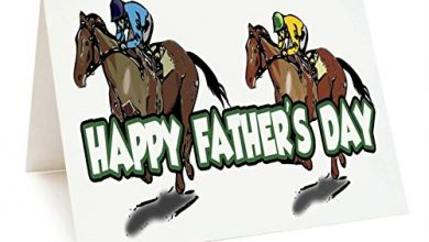 Photo of Father's Day Horse Racing Card for Dad – Daddy – Stepdad – Grandad – Gramps