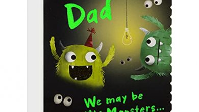 Photo of Father's Day Card from Both of Us for Dad from Hallmark – Little Monsters Design
