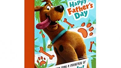 Photo of Father's Day Card from Hallmark -Fun Scooby-Doo Design